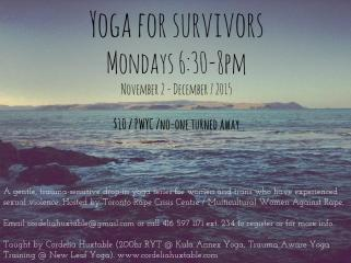 Yoga for Survivors