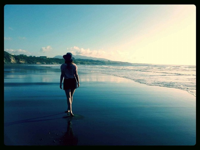 beach walkin