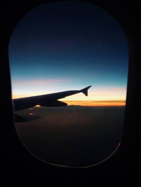 Sunrise flying